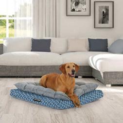 Kirkland Signature Orthopedic Napper Dog Bed 36 X40  Blue