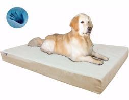 Orthopedic Waterproof Gel Memory Foam Pet Dog Bed for Medium