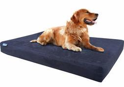 Orthopedic Waterproof Memory Foam Pet Bed for Small Medium L