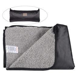 Outdoor Dog Blanket Waterproof Pet Blanket for Car Sofa Camp