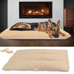 oversized large orthopedic dog bed thick cushion