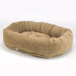 Paisley Donut Diamond-Microfiber Dog Bed