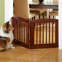 "Panel Zig-zag Dog Gates / Only 24""h Two-panel Gate: Covers U"