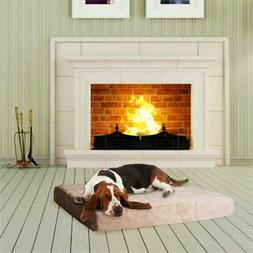Extra Large PAW Memory Foam Dog Bed With Removable Cover