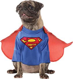 Pet's Superman Outfit Costume for Cute Dog's Clothing-Size L