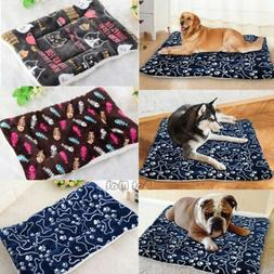 Pet Dog Cat Cute Bed Cushion Mat Pad Kennel Crate Cozy Warm