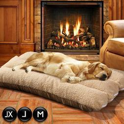Pet Bed Mattress Dog Cat Cushion Pillow Mat Blanket Soft Win