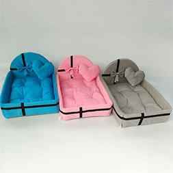 Pet Bed Puppy Cushion House Warm Kennel Dog Mat Blanket Smal