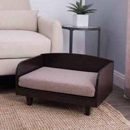 Pet Bed Sofa Dog Cat Chair Foam Cushion Portable Couch Furni