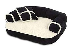 Petmate Pet Bed 20 In. X 16 In. Suede Asstd Colors