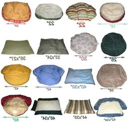 Pet Beds/Crates/Nest round/oval Dog/Cat. Small Large, Extra