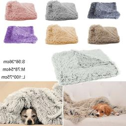 Pet Blanket Soft Bed Sleeping Kennel Dog Cat Litter Plush Ne
