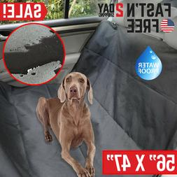 Pet Car Seat Cover for Dogs Cats Back Hammock Protector Mat