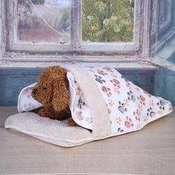 Pet Cat Dog Nest Bed Puppy Soft Warm Cave House Winter Sleep