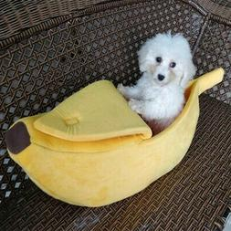 Banana Warm Kitten Dog Cat Pet Sleeping Sofa Bed Puppy Pet H