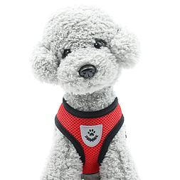 Pet Control SMALL Dog Harness Soft DOUBLE Mesh Walk Collar S