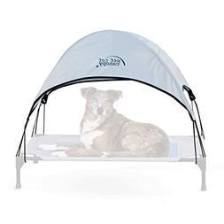 "K&H Pet Products Pet Cot Canopy Large Gray 30"" x 42"""