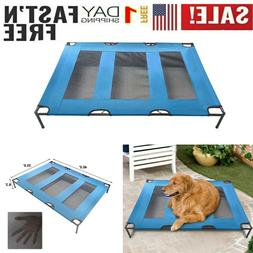 Pet Cot for Dogs Cats - Elevated Pet Bed for Outdoor Indoor