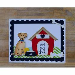 Pet Dog Bed House Feeder Bone Toy Set Metal Cutting Dies Ste