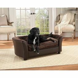 FurHaven Pet Dog Bed Sofa Couch Orthopedic Ultra Plush Soft