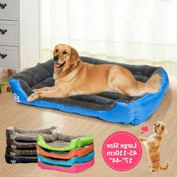 Pet Dog Bed Warm Large  Dog House Soft Dog Nest Basket Kenne