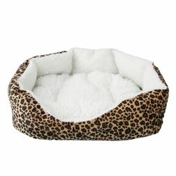 Pet Dog Cat Bed Puppy Cushion House Soft Crate Cage Warm Ken