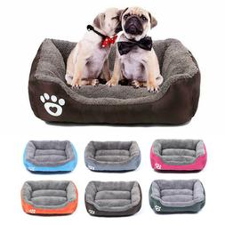 Pet Dog Cat Bed Puppy Cushion House Pet Soft Warm Kennel Dog