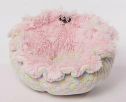 Bessie and Barnie Pet Dog Cat Cuddle Pod Bed Bubble Gum/ Ice