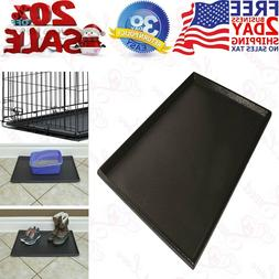 PET DOG CRATE Replacement Pan Plastic Liner Repl Tray Floor