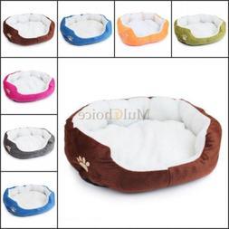 Pet Dog Puppy Super Warm Fleece Nest Bed House Mat Many Colo
