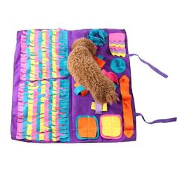 Pet  Dog Smell Snuffle Mat Rug Training Blanket Pet Feeding