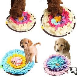 Pet Dog Smell Snuffle Mat Rug Training Blanket Feeding Mat P