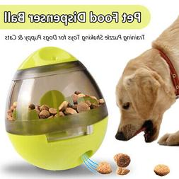 Pet Feeder Food Dispenser Leakage Training Education Toy Bal