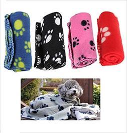 Ensunpal store Comfortable Pet Fleece Blanket Puppy Kitten B