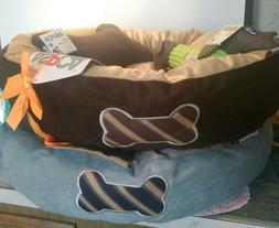 Premium Orthopedic Memory Foam Dog Bed with Anti-Microbial R