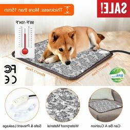 Pet Heated Warmer Bed Waterproof Pad Puppy Dog Cat Bed Mat E