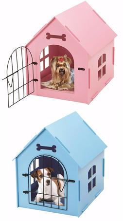 Pet House Crate Small Dog Cat Wooden Kennel Indoor Home Shel