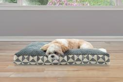 FurHaven Pet Kilim Deluxe Pillow Dog Bed