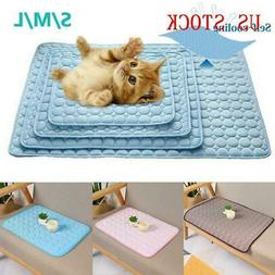 Pet New Summer Cooling Mat Cold Gel Pad Comfortable Cushion