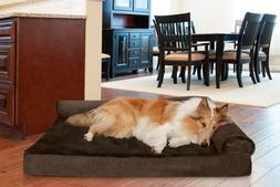 FurHaven Pet Cooling, Orthopedic, Memory Foam Plush & Velvet