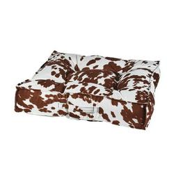 Bowsers Pet Products DURANGO MicroVelve Tufted Square Piazza