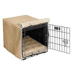 Bowsers Pet Products FLAX Microlinen Luxury Dog Crate Cover