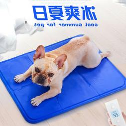 Pet Puppy Dog Cooling Mat New Summer Ice Cool Pad Comfortabl