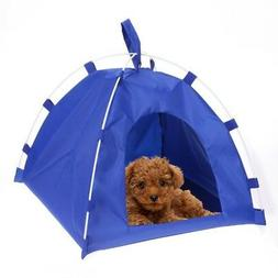 Pet Puppy Portable Folding Home Tent Dog Cat Sleeping Bed Po