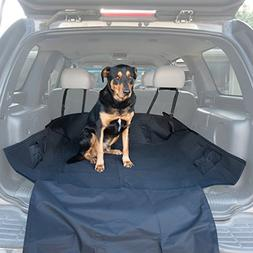 OxGord Pet Seat Cover for Cars with Thick HD Fabric Waterpro