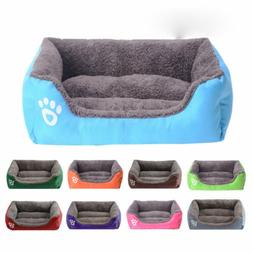 Pet Sofa Large Dog Bed Mat Puppy Cats Nest Warm Soft Kennels