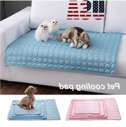 Pet Summer Cooling Mat Cool Gel Pad Comfortable Cushion Bed