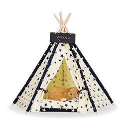 Zaihe Pet Teepee Dog & Cat Bed - Portable Dog Tents & Pet Ho
