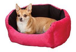 Slumber PetA Dimple Plush Nesting Beds  -  Cozy Clamshell-St