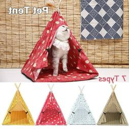 Pets Houses Tent Portable Puppy Bed Small Dog Kennel Cat Ant